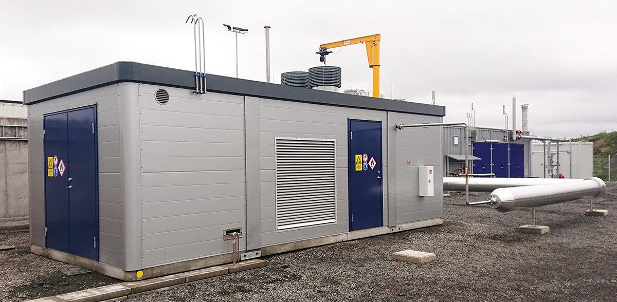 Naerenergi Nordkap biogasanlaeg