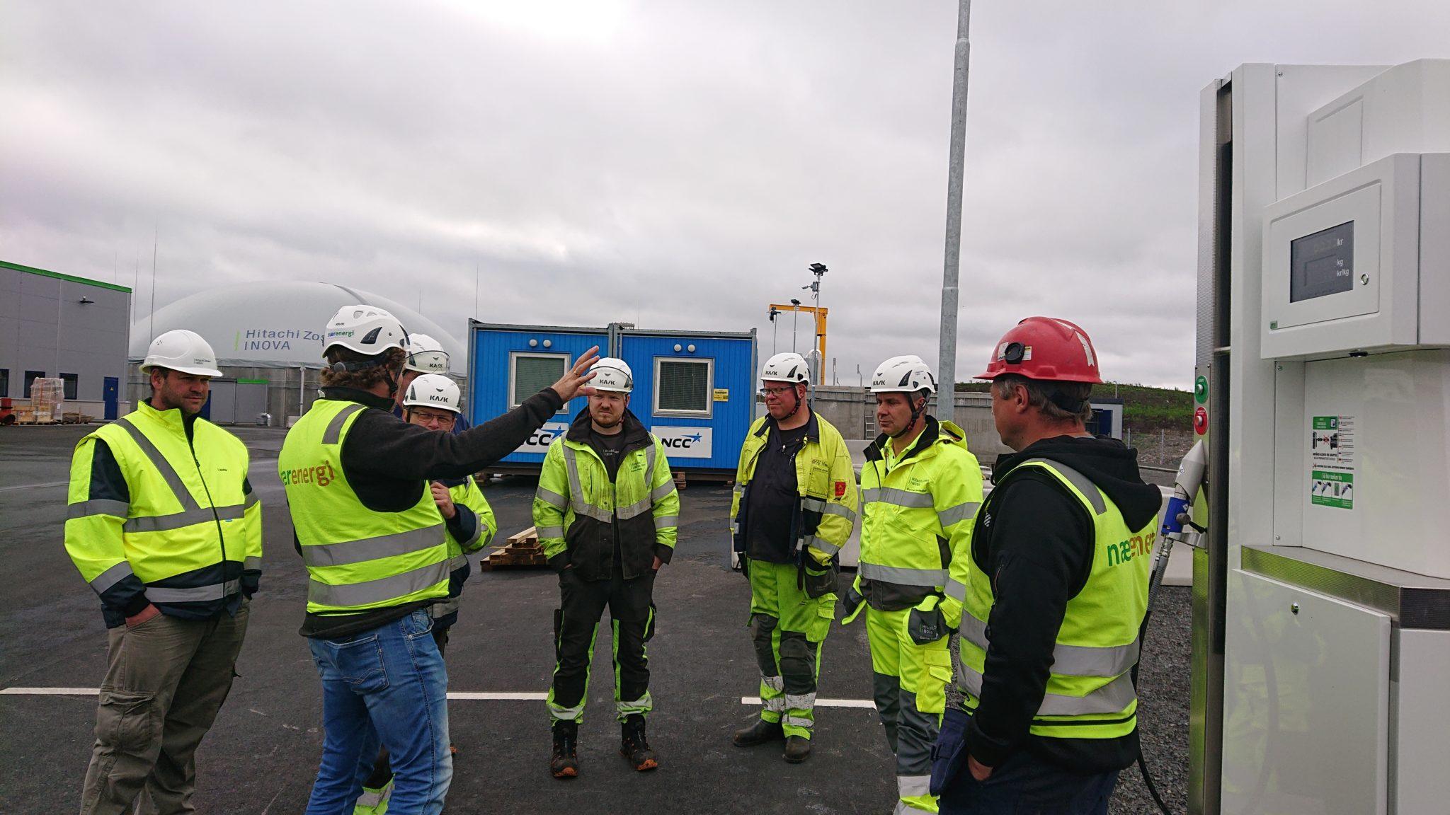 Nærenergi onsite briefing biogasprojekt